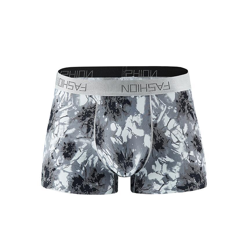ND/_ Men/'s Summer Milk Silk Breathable Underwear Boxer Briefs Underpant Shorts