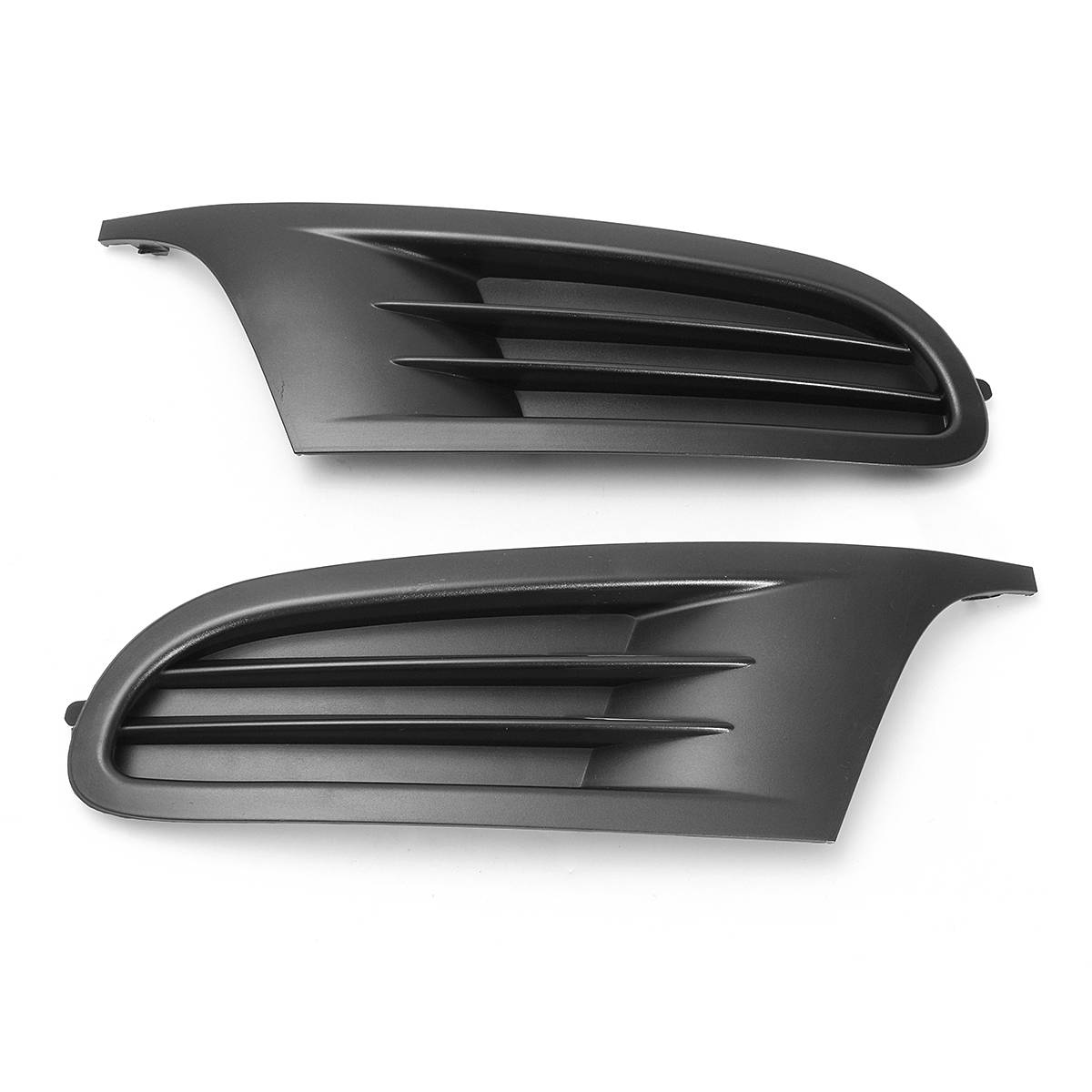 Pair Car Front Lower Bumper Grill Bumper Corner Grille Cover for VW GOLF MK6 2008-2013