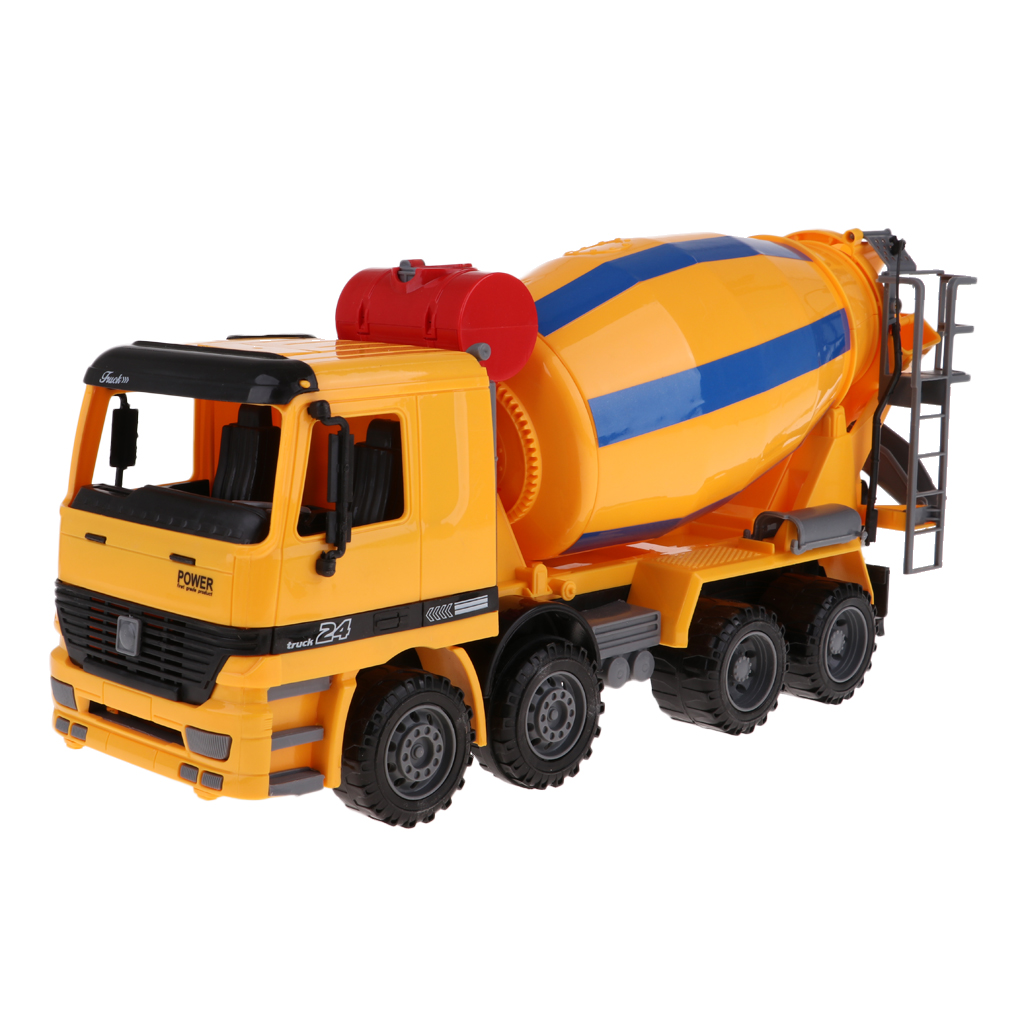Cement Mixing Truck Engineering Vehicle Model Kids Collection Toy Gift