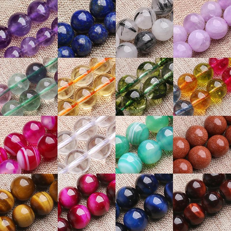 Hot Wholesale Green Persian Jade Stone Gemstone Round Spacer Loose Bead 6//8//10mm