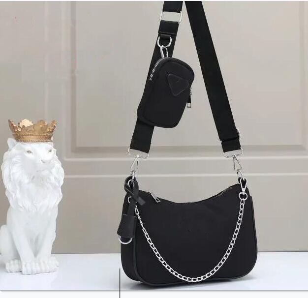 fashion ladies three-piece shoulder bag ladies chest bag ladies handbag chain handbag purse crossbody bag designer handbag canva