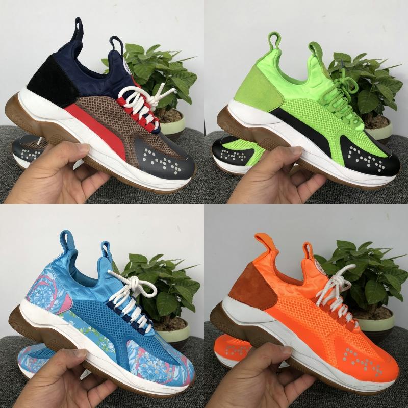 Luxe Plate forme Designer Shoes Cross Chainer de réaction 2.0 Multi Color Volt orange mode blanc Fluo vert des femmes des hommes Sneakers Casual