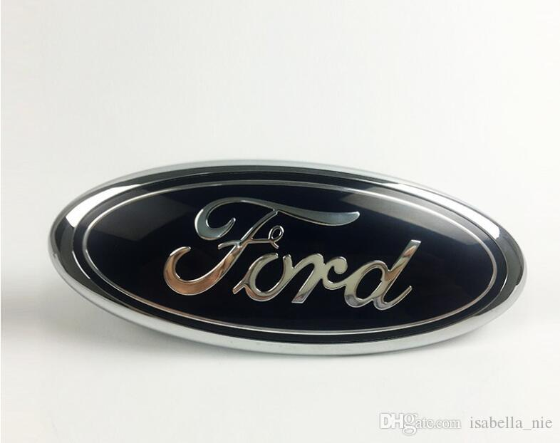 "FORD Black And Red Front Grille Or Tail Emblem 9/"" For F150,250,350,Edge,Explorer"