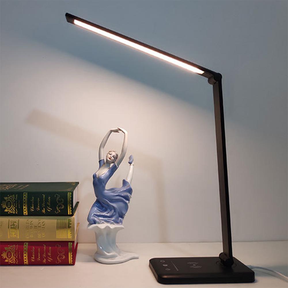 Kreativ LED Klemmleuchte Leselampe Tischlampe Buch Lampe Licht Buchlampe Light
