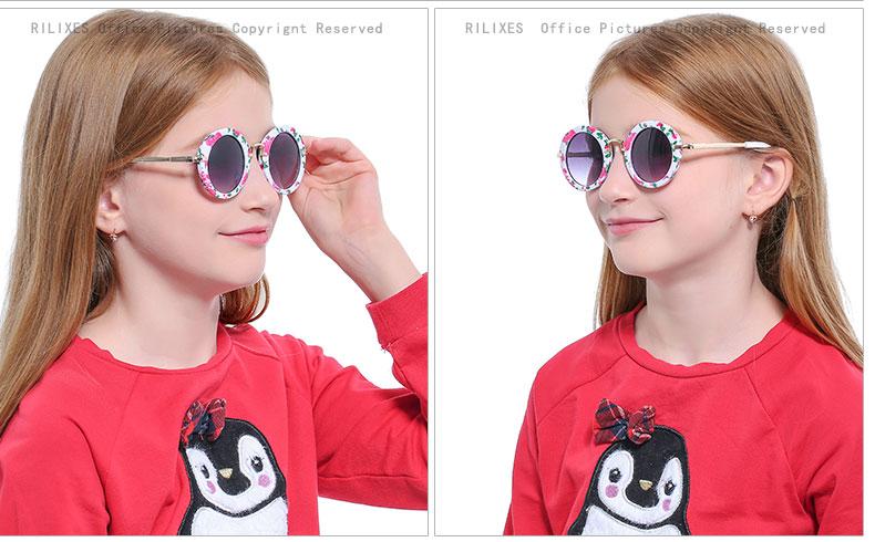 NEW Baby Girls Sunglasses Brand Designer UV400 Protection Lens Children Sun Glasses Cute Kids Sunglasses Cool Goggles (15)