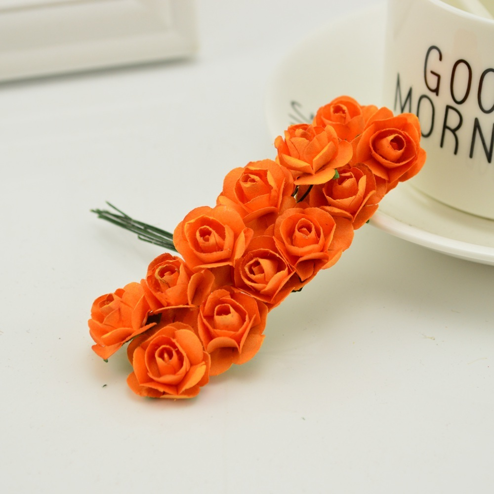 144pcs-1cm-cheap-Artificial-Paper-flowers-for-Wedding-car-fake-Roses-Used-For-decoration-Candy-box(6)