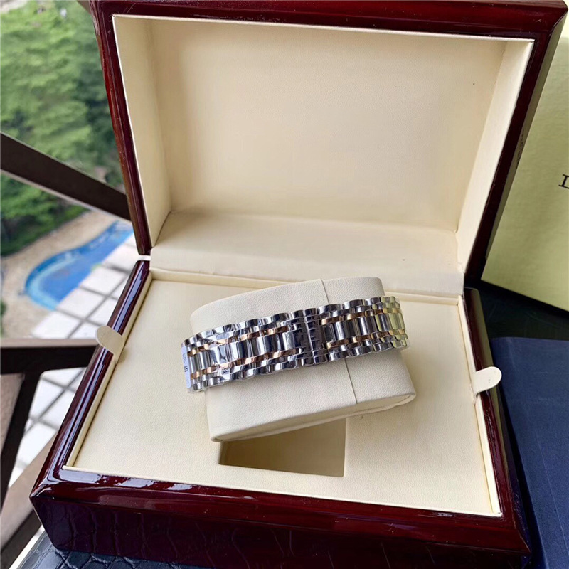 diseñador de movimiento de la Nueva reloj mecánico automático suizo de onda de negocios de ocio de piano reloj impermeable de los hombres de la marca mecánica