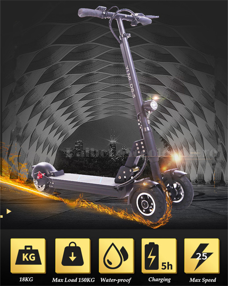Daibot 3 Wheel Electric Scooter With Seat Electric Scooters 8 inch 400W 36V500W 48V Folding Electric Skateboard For Adults (11)