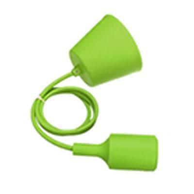 E27 soquete de base pingente de silicone pendurado suporte da lâmpada com adaptador de suporte de fio soquete conversor otário diy com 1 m de cabo