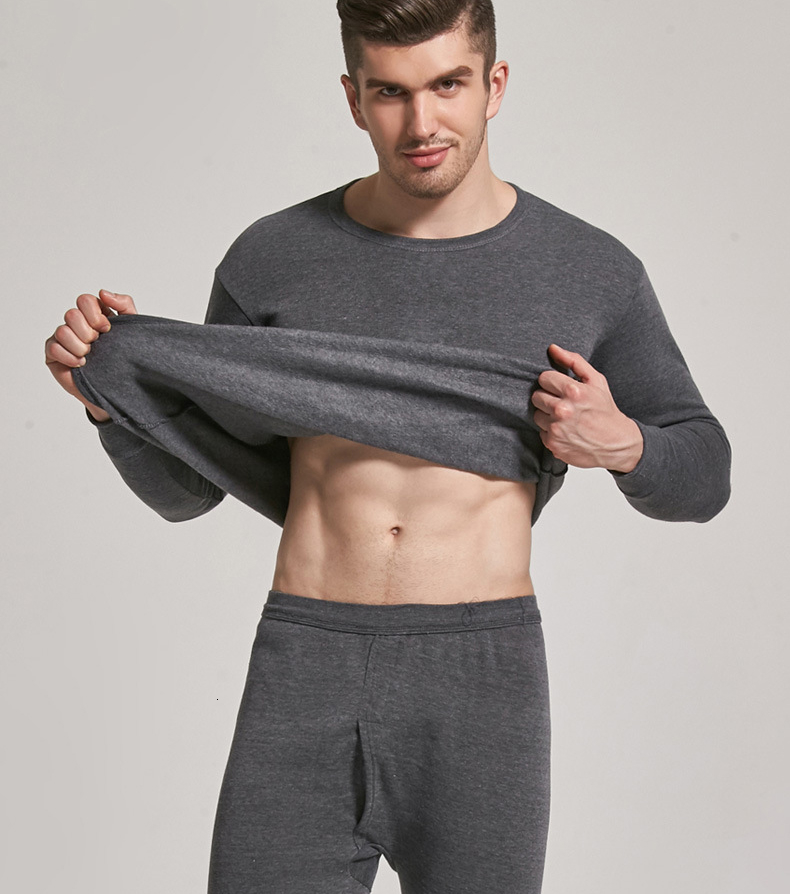 Thermal Underwear For Men Plus Size Thermal Underwear Set Winter Long Johns Men Warm Thermal Underwear Set Thermo Kleding 13