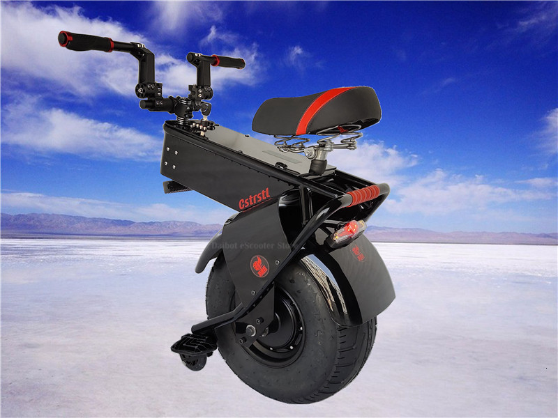 Adult Electric Motorcycle Scooter One Wheel Electric Scooters 18 Inch Fat Tires Portable Electric Unicycle One 1000W 60V 90KM (5)