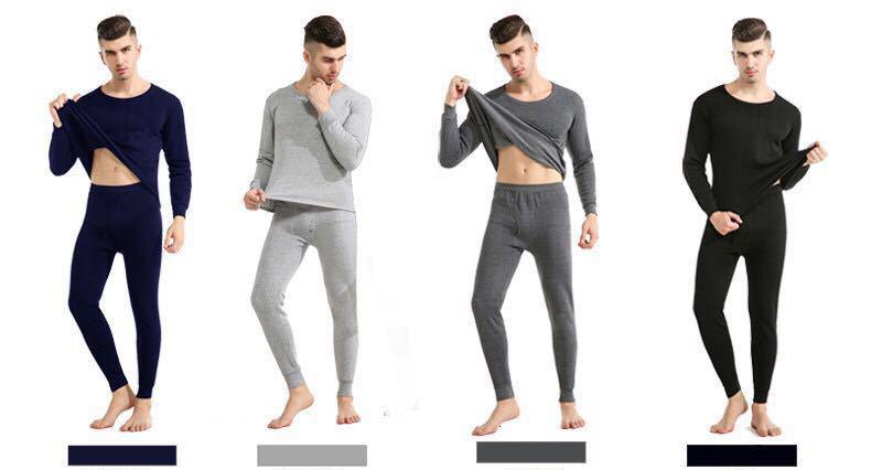Thermal Underwear For Men Plus Size Thermal Underwear Set Winter Long Johns Men Warm Thermal Underwear Set Thermo Kleding 21