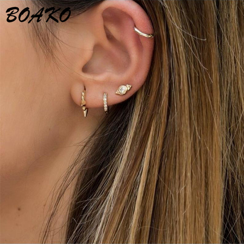 Korean Minimalist Style Ear Accessories All Match Long Earrings For Women Metal