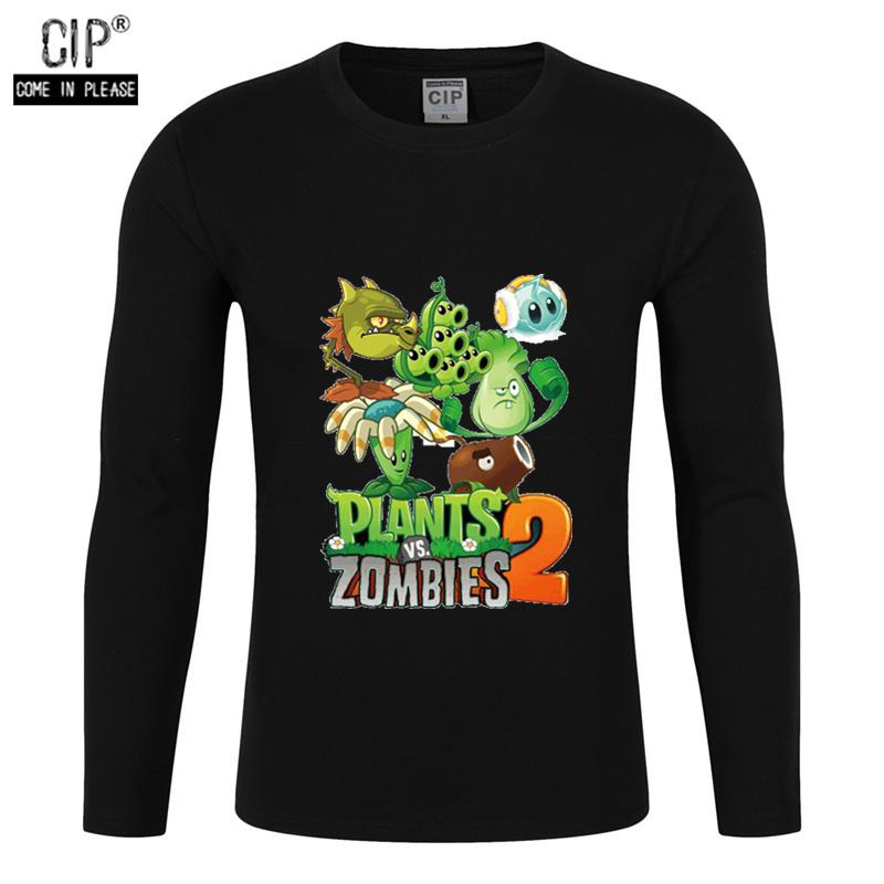 Ragazzi Piante Vs Zombie t-shirt personalizzata