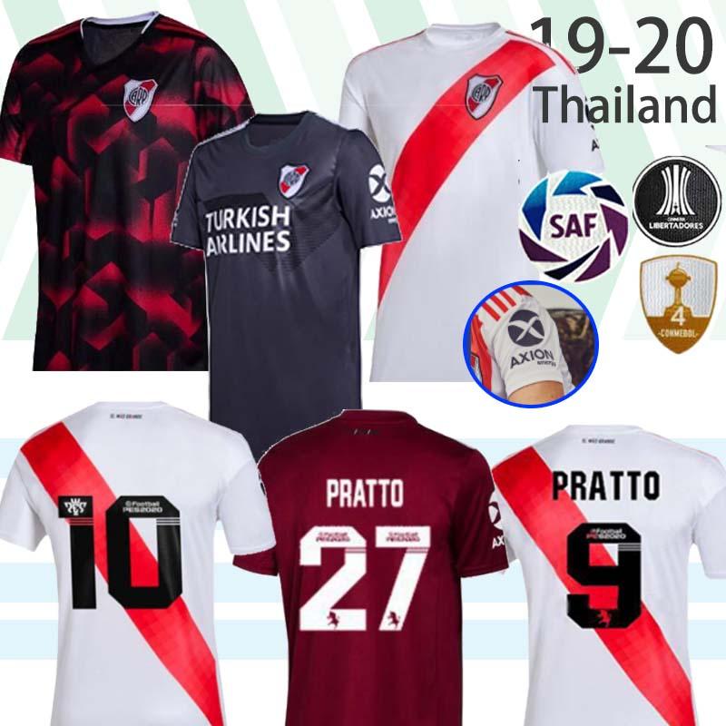 El mas grande lejos handmade River Plate de Argentina Futbol Soccer T Shirt