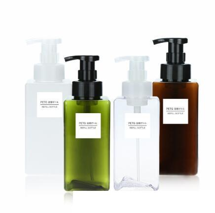 10pcs 80ml Empty Plastic Travel Hand Soap Dispenser Clear Foam Pump Bottles