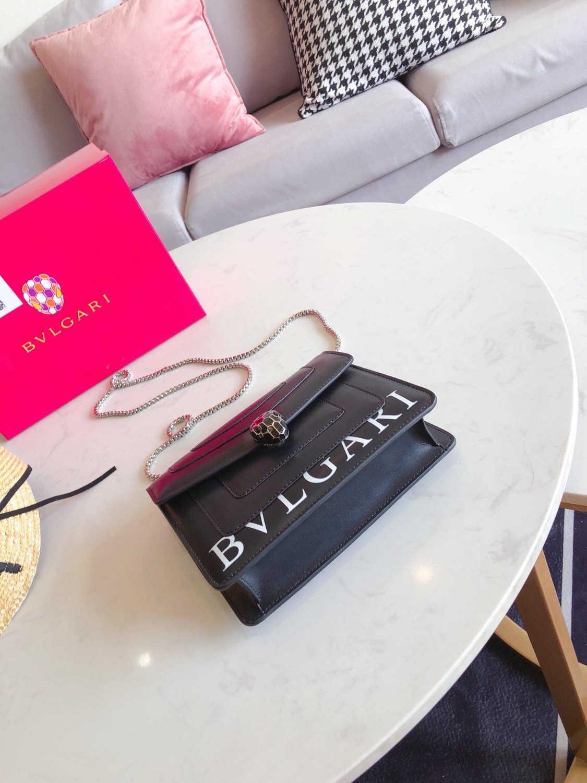2019 Neue Handtaschen Schlangenleder Geprägte Mode Frauen Kette Crossbody Markendesigner Umhängetasche Sac A Main 0729