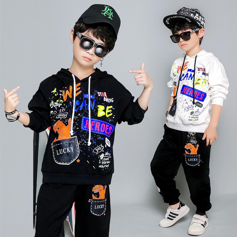 Si l/'histoire se répète pour obtenir un IAM Dinosaure drôle Hipster Fashion à Capuche