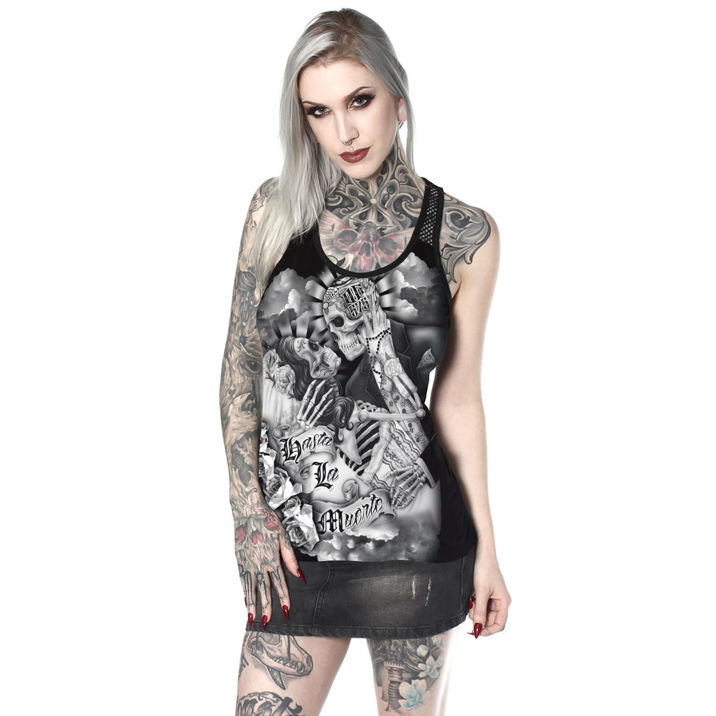 Humano Esqueleto Número de impresión Traje de vestir Autocultivo Plomo en forma de I Chaleco sin mangas Chaqueta Verano
