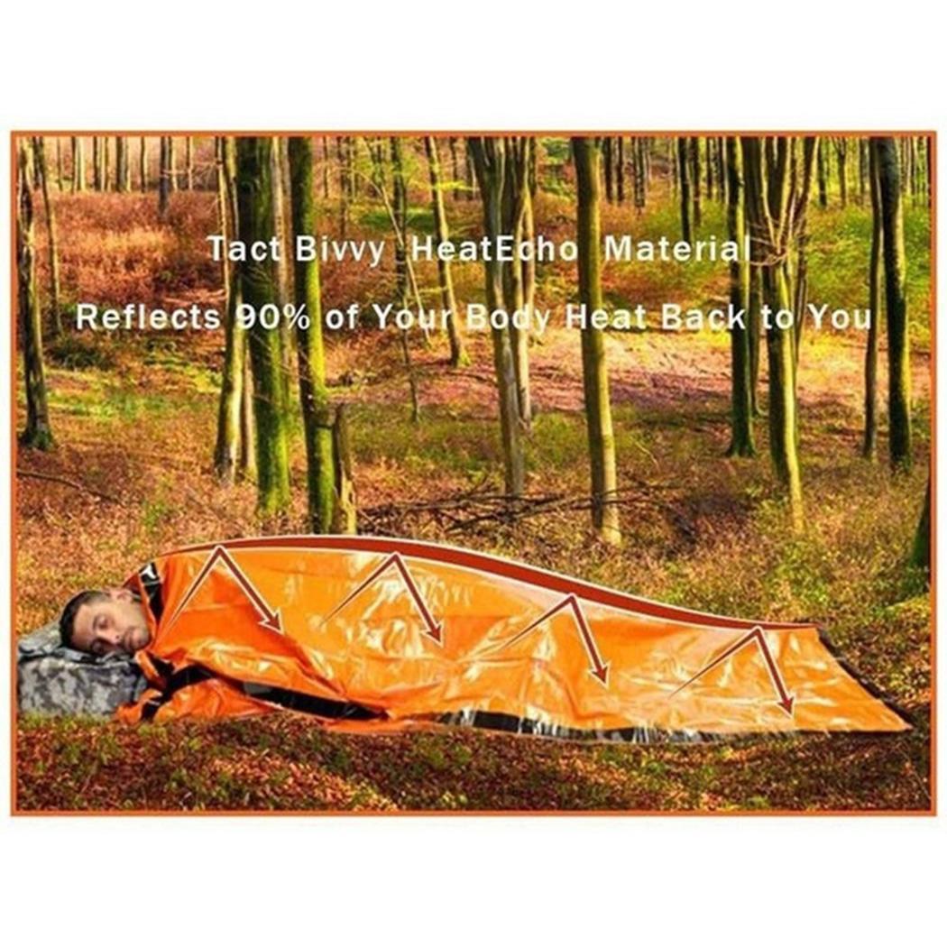 Moda Yeni Açık Taşınabilir Su Geçirmez Kullanımlık Acil Folyo Kamp Uyku Tulumu Moda Yeni Uyku Tulumları