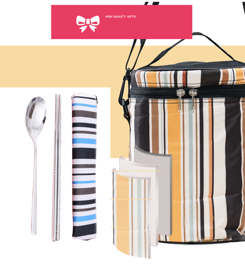 304 stainless steel multi-layer insulated lunch box 33