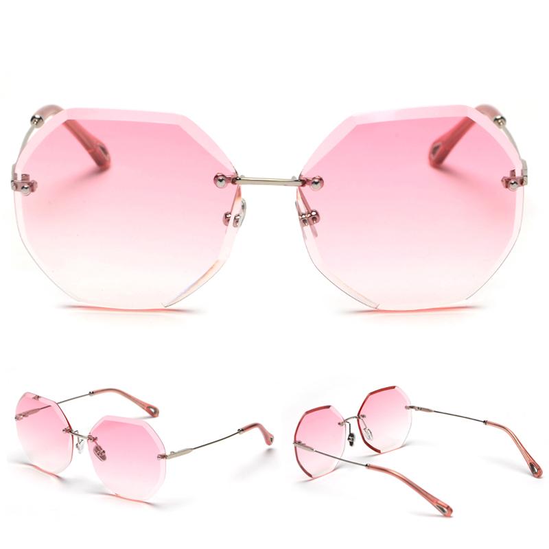 Octagon Sunglasses Women Fashion detaail (3)