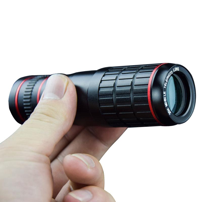 Universal Optical 20X Zoom Telescope Camera Lens for Mobile Lente Para Celular Cell Phone Smartphone Telescope Clip On