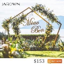 JAROWN-Wedding-Wrought-Iron-Arch-2-5m-Polygonal-Silk-Flower-Arch-European-Wedding-Scene-Layout-DIY