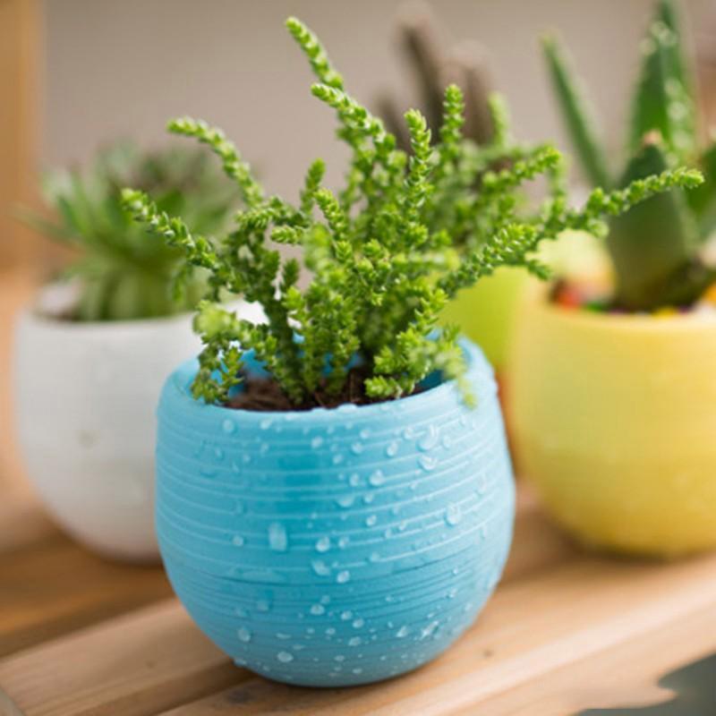 1:12 Dollhouse Watering Can Garden Sprinkle Flower Pot Miniature Decor  FF