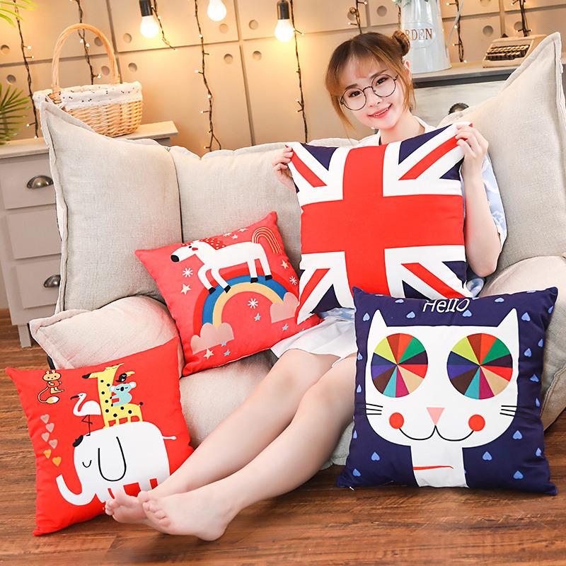 large decorative sofa pillows large sofa pillows sofa.htm 45cm stuffed pillow sofa cushion plush animal unicorn elephant cat  45cm stuffed pillow sofa cushion plush