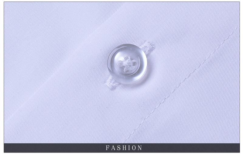 BROWON Brand New Formal Shirt Men Short Sleeve Shirt Turn Down Color Slim Fit Casual Shirt Plus Size M-5XL Camisa Masculina17