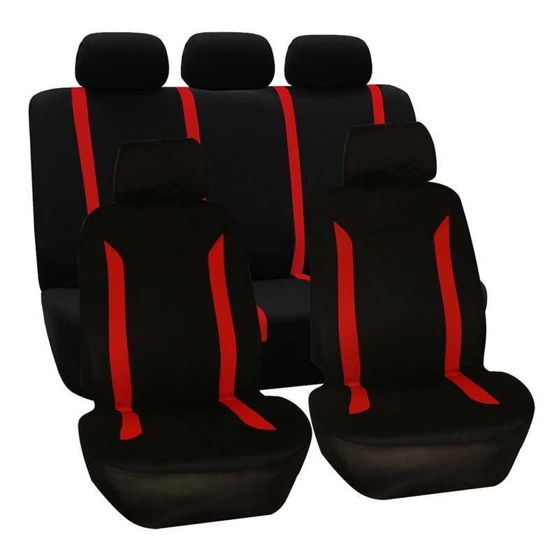 Auto Seat Covers for Car Truck SUV Van - Universal Protectors Polyester