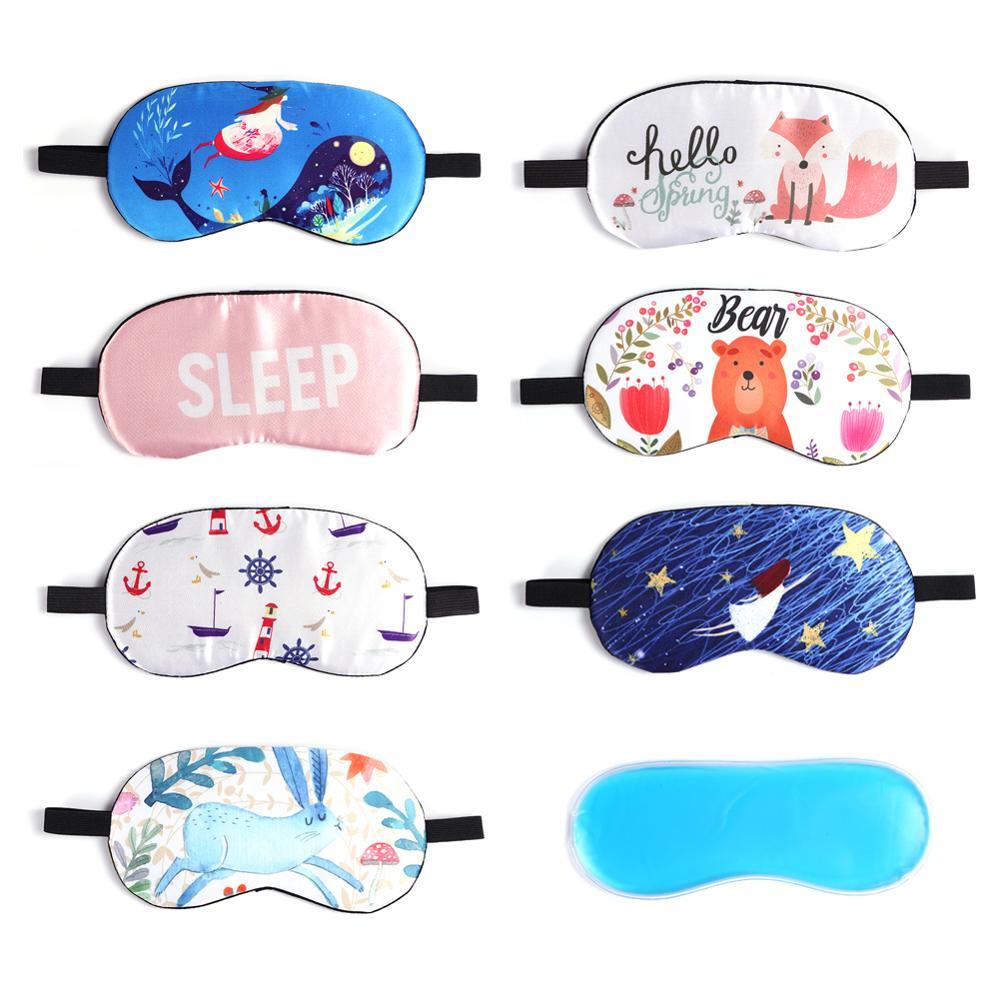 Nouveauté Masque Yeux Voyage Sleepwear Bandeau Drôle Cadeau Fête Sommeil Patch Blinder