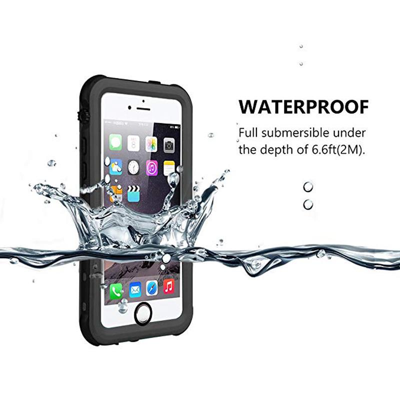 Redpepper Sealed Waterproof Case For iPhone 5 5S SE Shockproof case (5)