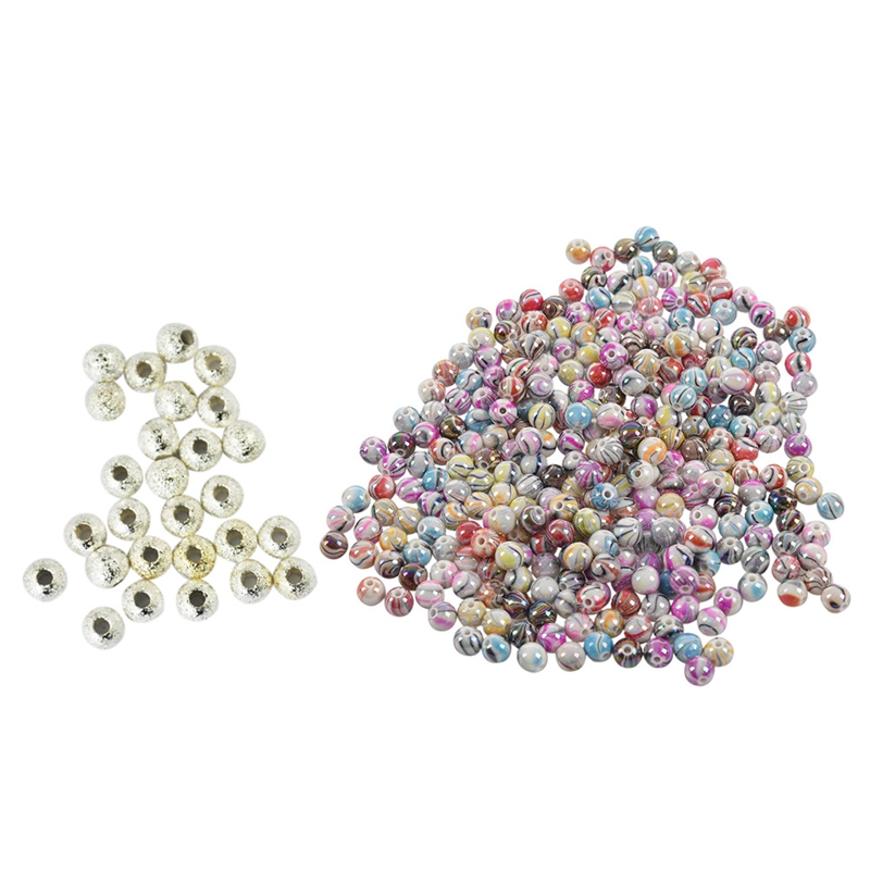 200 Pièces Perles 6 mm plat rond ~ assortis sans plomb Couleur Bois Perles