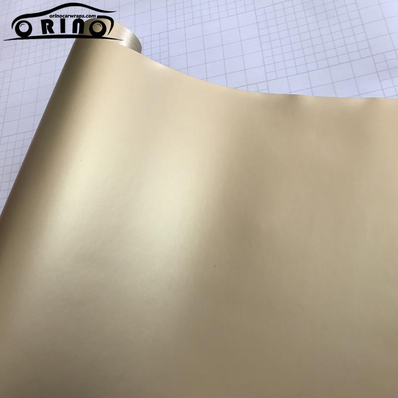 champagne gold metallic vinyl film-4