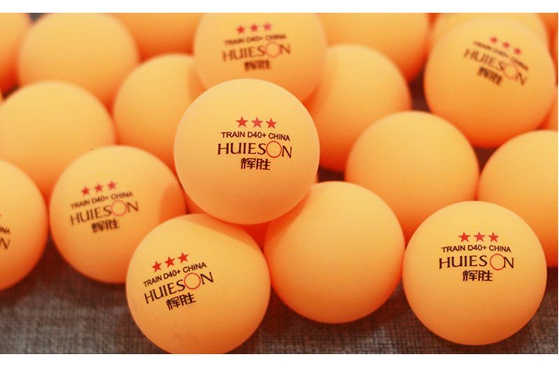 Huieson 100 Pcs 3-Star 40mm 2.8g Table Tennis Balls Ping Pong Balls for Match New Material ABS Plastic Table Training Balls (4)
