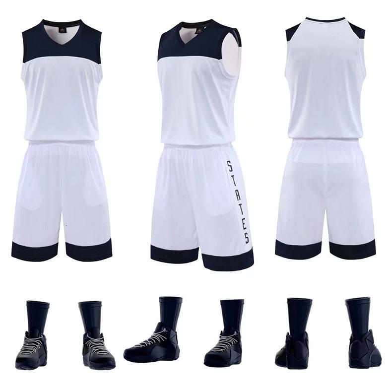 Basketball Sirva terno claro Painel chinês equipe E.U.A Equipe Movimento Jersey velocidade Do Jogo Roupa de Formação de impressão