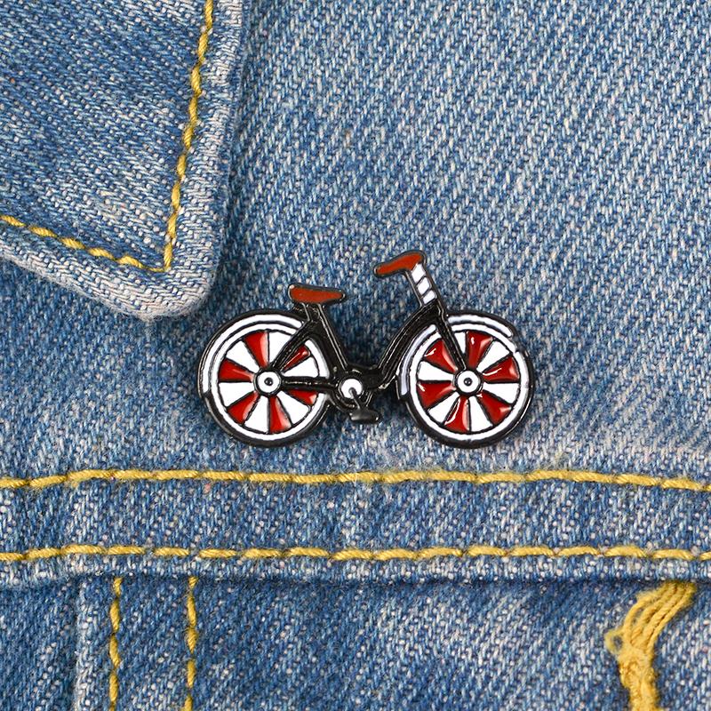 Plata Deportes Moto Pin De Solapa Insignia Moto Deportiva Racing Biker Insignias Bicicletas Nueva