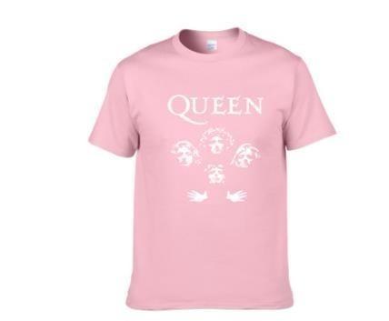 Glitter Rock Band Queen Tee Shirt Femme Cotton Streetwear Freddie Mercury T Shirt Women Tops Hipster Crop Top Women Clothes 2019 Y19051301