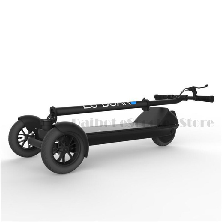 T bar esboard hoverboard 3 wheel kick scooter for kids&adult,electric skateboard with handle bar (3)