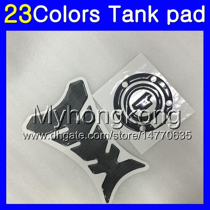Motorcycle Tank Gas Protector Pad Sticker Fiber Rubber Decal Devil Fit For Yamaha YZF R1 2002-2003