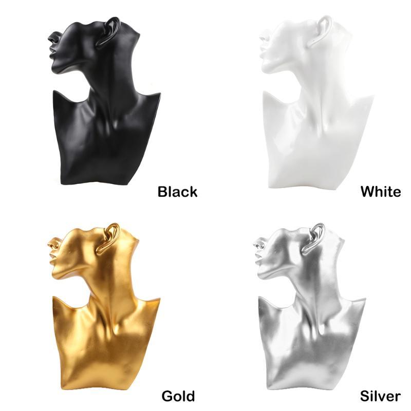 Banco di mostra dei monili per la collana della vetrina del controsoffitto / esposizione del figurine del pendente dell'esposizione del pendente dell'esposizione Collana creativa della figurina