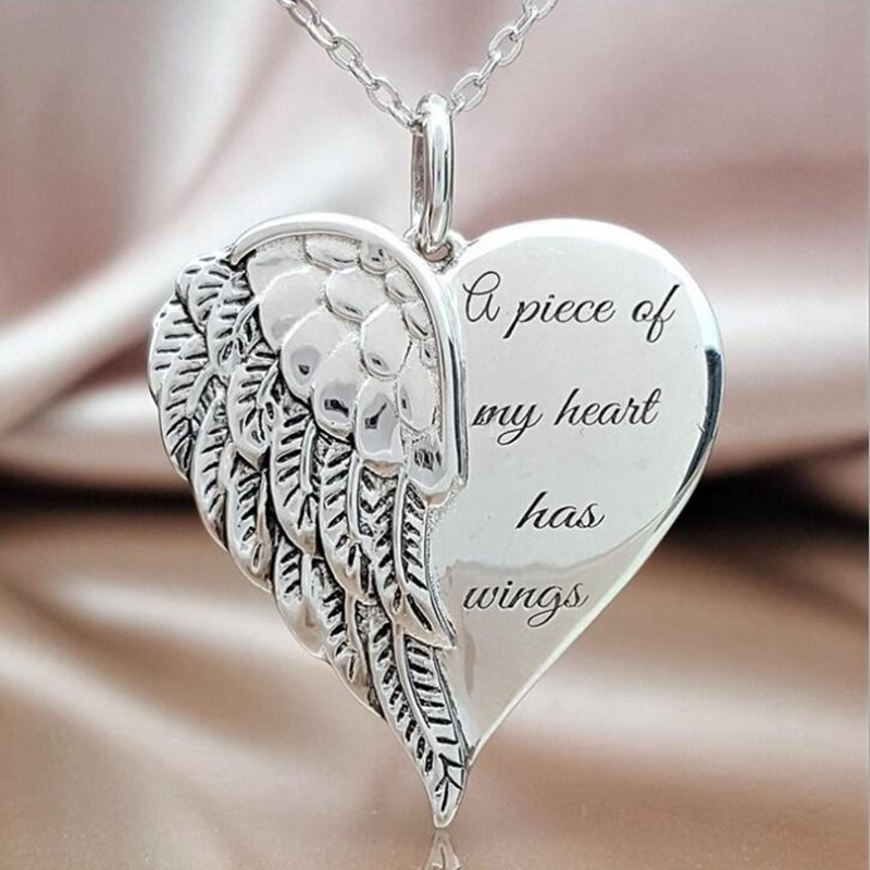 """5 x Plata Tibetana /""""un pedazo de mi corazón vive en el cielo/"""" Memorial encantos perlas"""