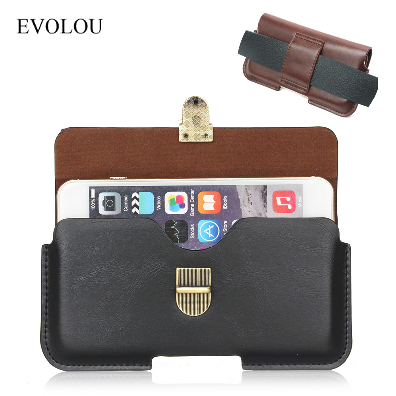Business Belt Clip Holster Pouch Cover For Iphone 6s 6 7 Plus A3 A5 A7 2017 Waist Bag For SAMSUNG HTC XIAOMI Universal Phone Bag