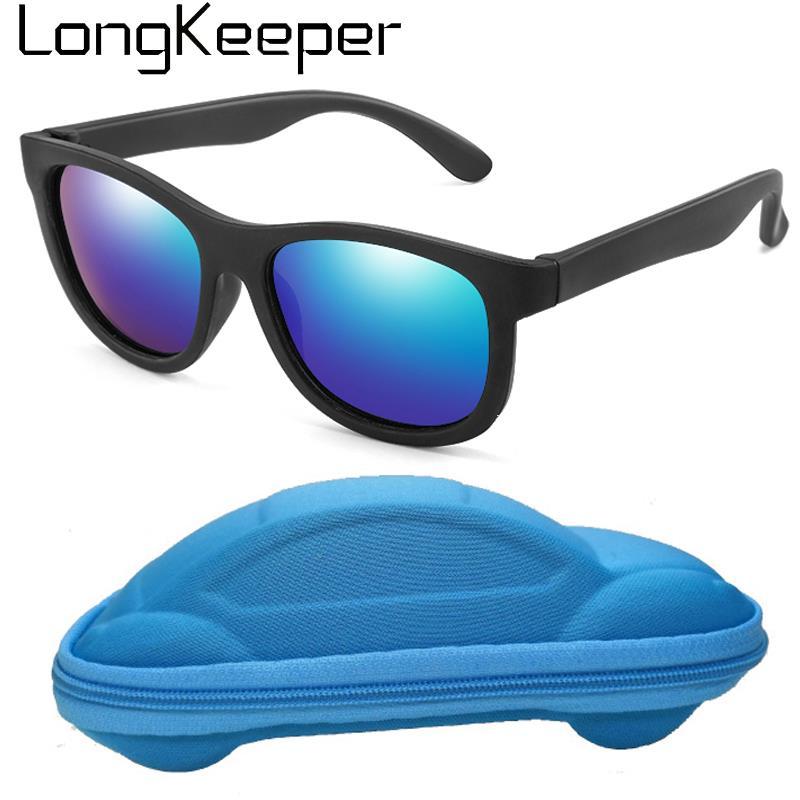 Unbreakable Lens /& Frame 3-8 years Case Polarized Sunglasses for Kids