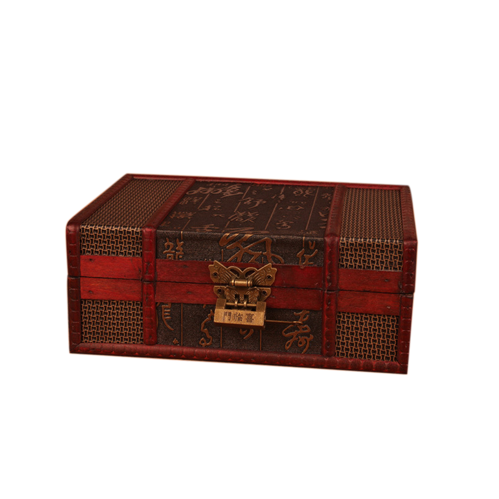3x Vintage 3.8cm Trunk Drawer Outdoor Pig Padlock Suitcase Lock Latch Bronze