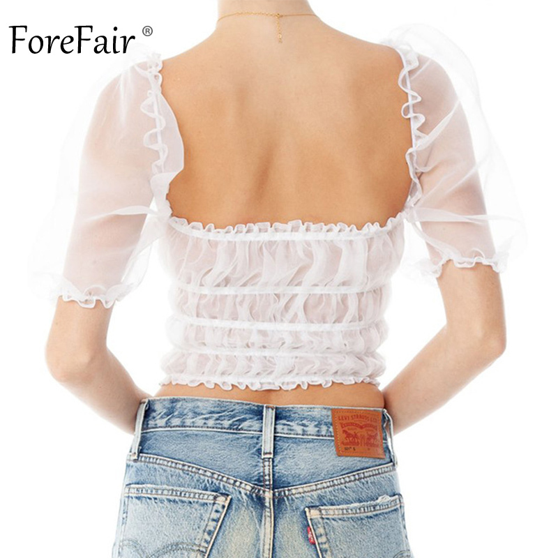 Forefair Lace Top Sexy Summer (10)