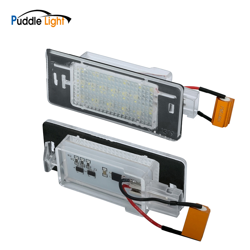 2x para el lado LED blanco haz de luz Bombillas Canbus Libre De Errores de aparcamiento Citroen C1 MK1