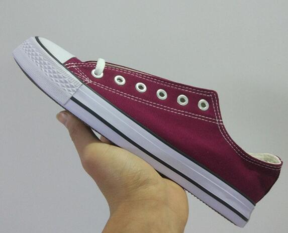 New Fashion Men's Women's White Canvas Shoes Classic Women and Men Low Style Classic Canvas Shoes Casual Canvas Shoes